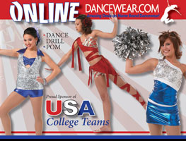 DanceUSA College Database sponsored by Online Dancewear